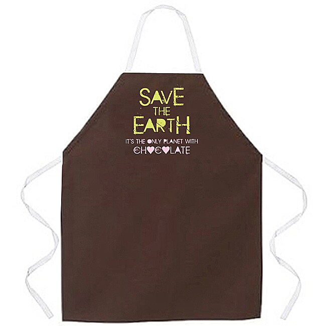 Attitude Aprons 'Save the Earth' Apron