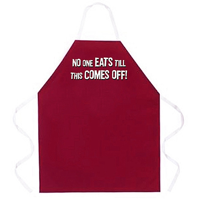 Attitude Aprons 'No One Eats' Apron