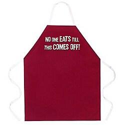 Attitude Aprons 'No One Eats' Apron