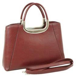 Dasein Faux Leather Briefcase-style Satchel