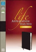 Life Application Study Bible: New International Version Black Bonded Leather (Paperback)