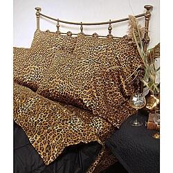 Wildlife Leopard Cal King-size Sheet Set