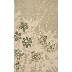 Outdoor South Beach Green Spring Rug (5' x 8')