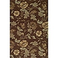 Indoor/ Outdoor South Beach Brown Summertime Rug (3'9 x 5'9)