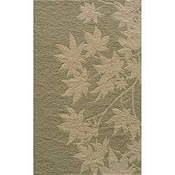 Indoor/Outdoor South Beach Sage Vine Rug (3'9 x 5'9)