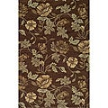 South Beach Brown Summertime Indoor/Outdoor Rug (8' x 10')