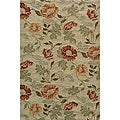 South Beach Beige Sand Summertime Indoor/Outdoor Rug (3'9 x 5'9)