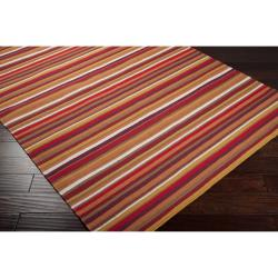 B. Smith Hand-woven Red Madidi Wool Rug (8' x 11')