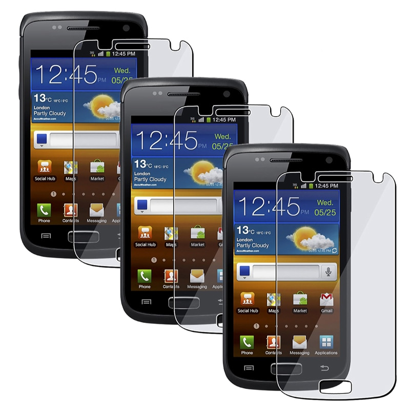 INSTEN Clear Screen Protector for Samsung Galaxy W i8150 (Pack of 3)