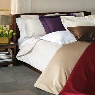 1500 Thread Count Solid 3-piece Duvet Cover Set