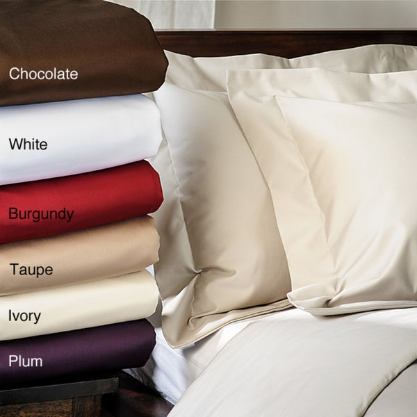 1500 Thread Count Solid King/California King 3-piece Duvet Cover Set