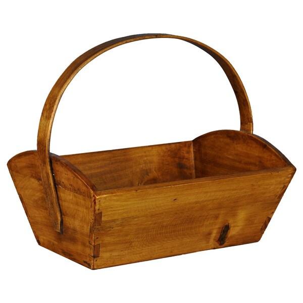 European-style Wooden Fruit Bucket