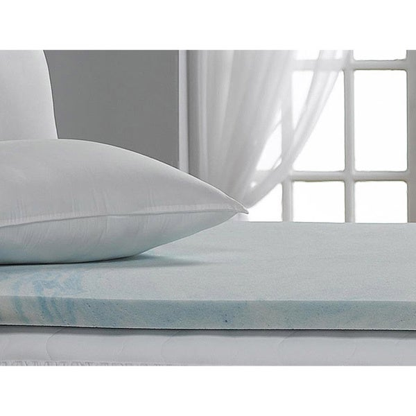 Beautyrest 2-inch Marble Gel Memory Foam Mattress Topper