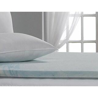 Beautyrest 2-inch Marble Gel Memory Foam Mattress Topper