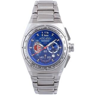 Chronotech Men's Stainless-Steel Blue Quartz Watch