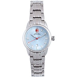 Chronotech Women's Stainless Steel Light Blue Watch