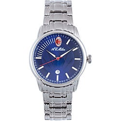 Chronotech Men's Stainless Steel Blue Watch