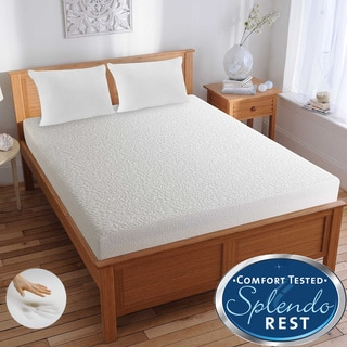 Splendorest TheraGel 8-inch Twin-size Gel Memory Foam Mattress-In-A-Box