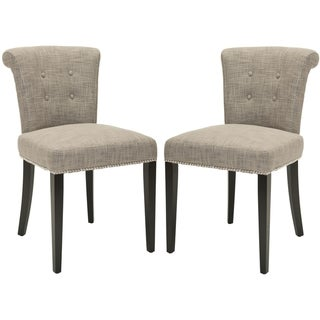 Safavieh Carrie Heather Grey Side Chair (Set of 2)