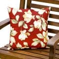 Outdoor Roma Floral Accent Pillows (Set of 2)