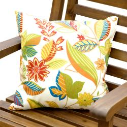 Outdoor 'Fireworks Floral' Accent Pillows (Set of 2)