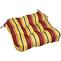 Outdoor 'Mayan Stripe' 20-inch Chair Cushion