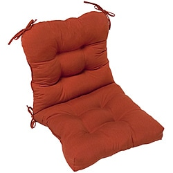 Red Outdoor Seat/Back Chair Cushion