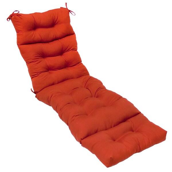 72 Inch Outdoor Salsa Chaise Lounger Cushion 14159113