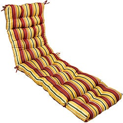 72-inch Outdoor Carnival Chaise Lounger Cushion