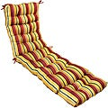 Mayan Stripe 72-inch Outdoor Chaise Lounger Cushion