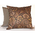 Paddock Shawl Onyx Decorative Pillows (Set of 2)