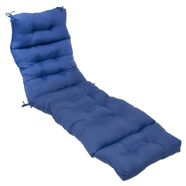 Blue Chaise Cushions Of 72 Inch Outdoor Marine Blue Chaise Lounger Cushion
