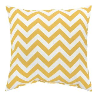 Zags Yellow Outdoor Accent Pillows (Set of Two)
