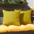 17-inch Outdoor Kiwi Square Accent Pillow (Set of 2)