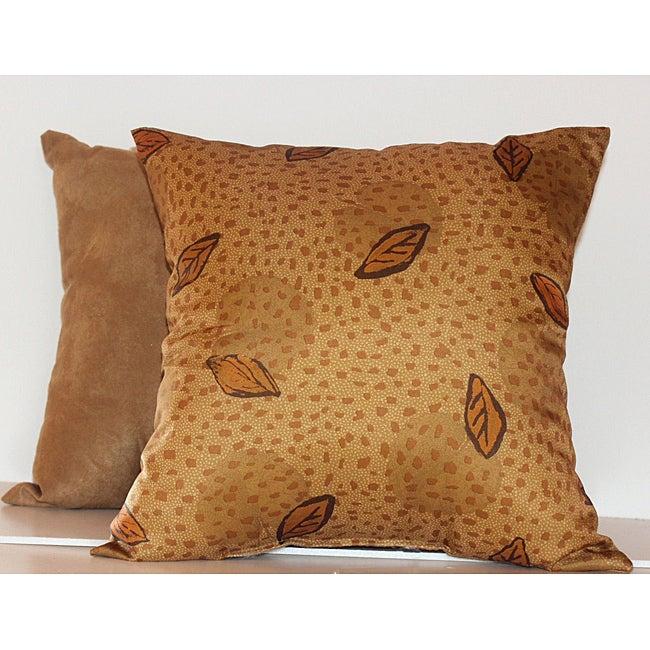 Autumn Leaf Decorative Pillows (Set of 2)