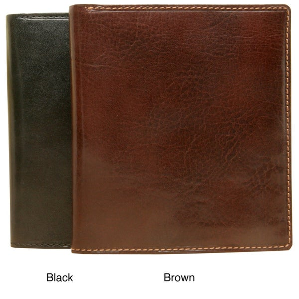 Tony Perotti Men's Italian Leather Stylish Hipster Wallet