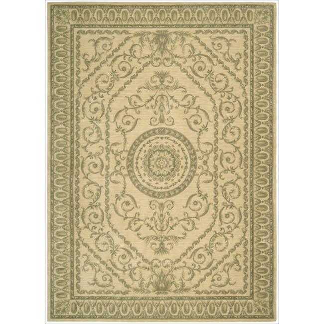 Nourison Ashton House Ivory Wool Rug (9'6 x 13')