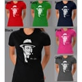 Los Angeles Pop Art Women's Al Capone Cotton T-Shirt