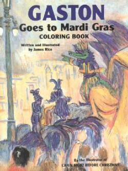 Gaston Goes to Mardi Gras Coloring Book (Paperback)