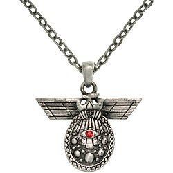 CGC Pewter Unisex 'Deity of Intelligence' Necklace