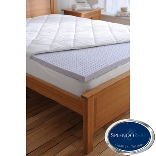 Splendorest TheraGel 2-inch Twin/ Full-size Gel Memory Foam Mattress Topper
