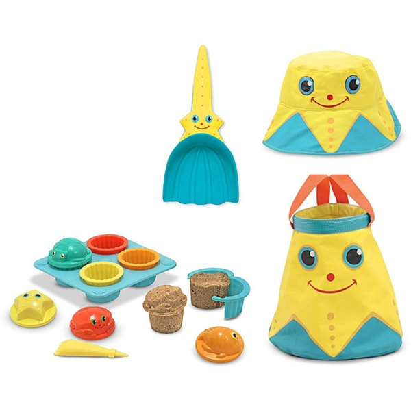 Melissa & Doug Sunny Patch Sand Toy Bundle #1