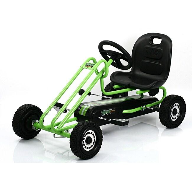 Traxx Race Green Lightning Pedal Go-kart