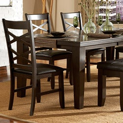 Callington Rich Espresso X Back Mission 6-piece Dining Set