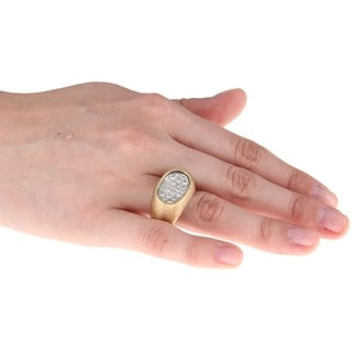 14k Yellow Gold 1ct TDW Diamond Estate Ring (J-K, SI1-SI2)