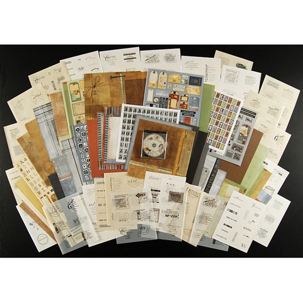 Endless Ephemera Paper/Vellum Vintage Collection for Paper Crafters