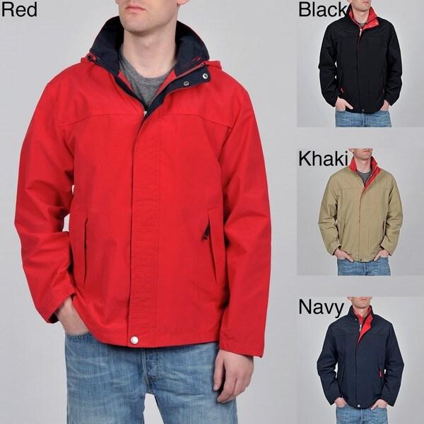 Geoffrey Beene Men's 'Grant' Cotton/ Nylon Jacket