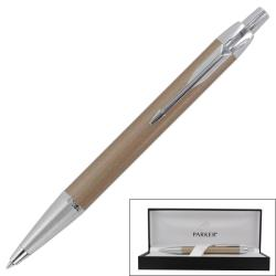 Parker IM Dust Chrome Trim Retractable Ballpoint Pen
