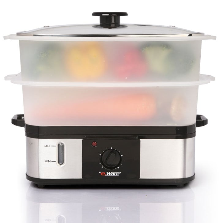 E-Ware Dual-Layer Multi-Purpose Large Food Steamer