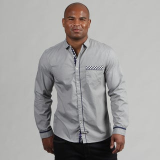 English Laundry Men's Woven Shirt